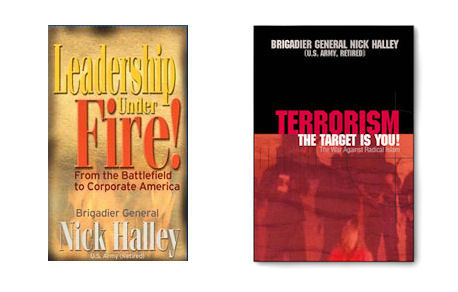 NICK HALLEY BOOKS