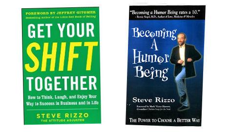 STEVE RIZZO BOOKS