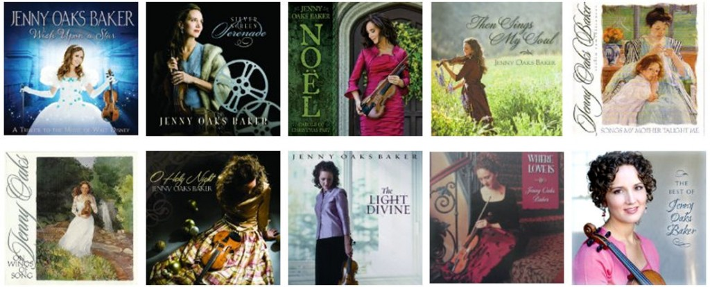 Jenny Oaks Baker CDs