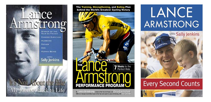 Lance Armstrong - books