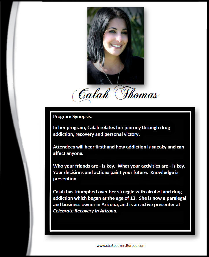 Calah Thomas - article