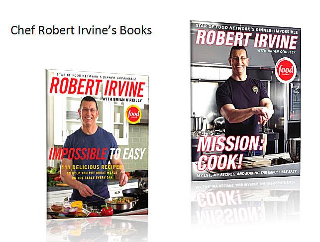 Robert Irvine Books