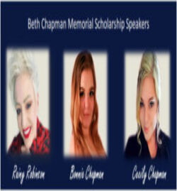 Beth Chhapman Memorial Scholarship Speakers